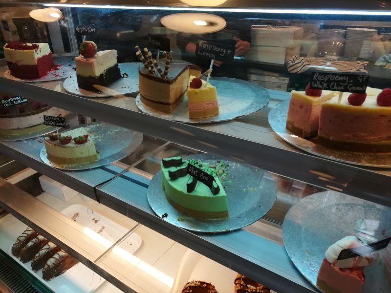 Cakes & Shakes, schönes Café in Musselburgh, Schottland