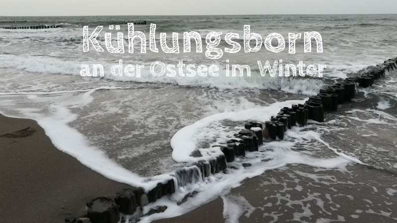 Kühlungsborn im Winter an die Ostsee mit Kindern