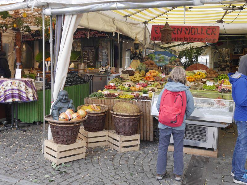 München mit Kindern, Viktualienmarkt
