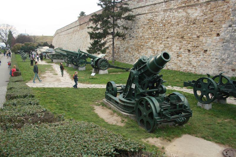 Belgrad, Stadtpark, Panzer