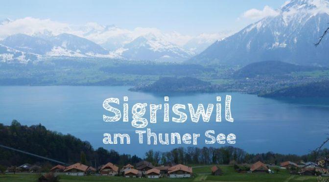 Sigriswil: Familien-Wandern über dem Thuner See