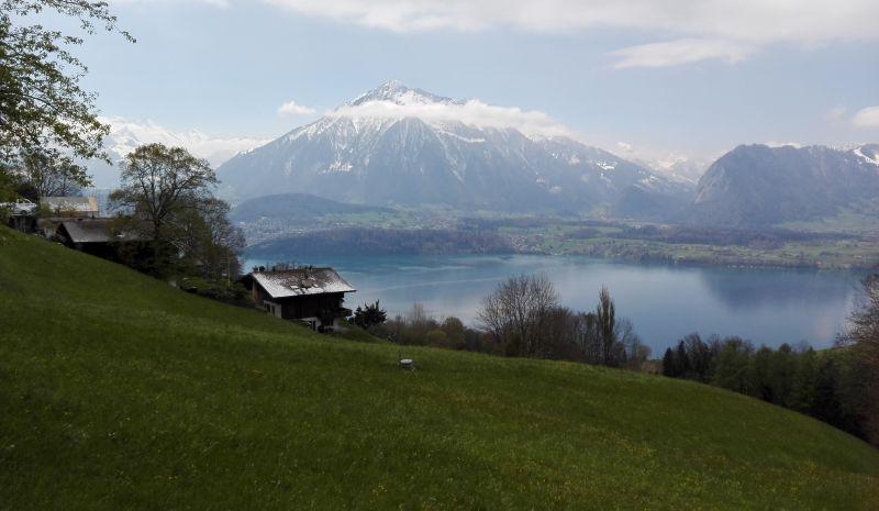 Sigriswil, Thuner See, Schweiz