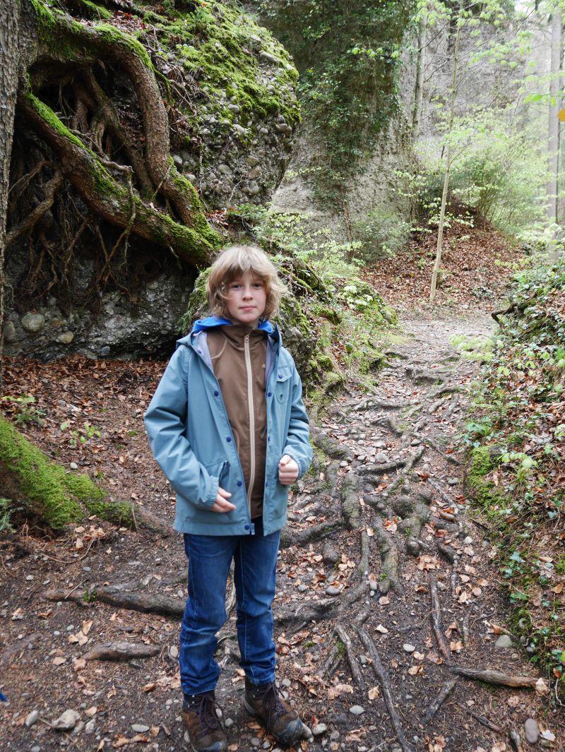 Wandern mit Kind in der Schweiz