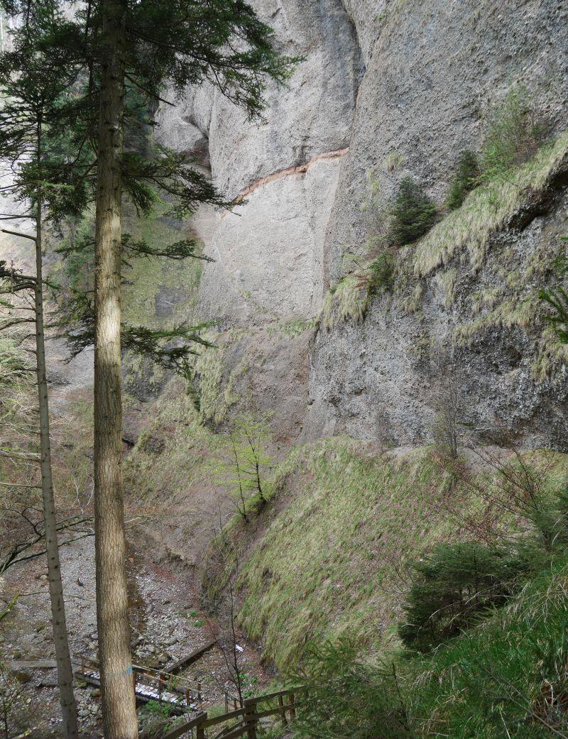 Sigriswil, Schweiz, Riderbachschlucht