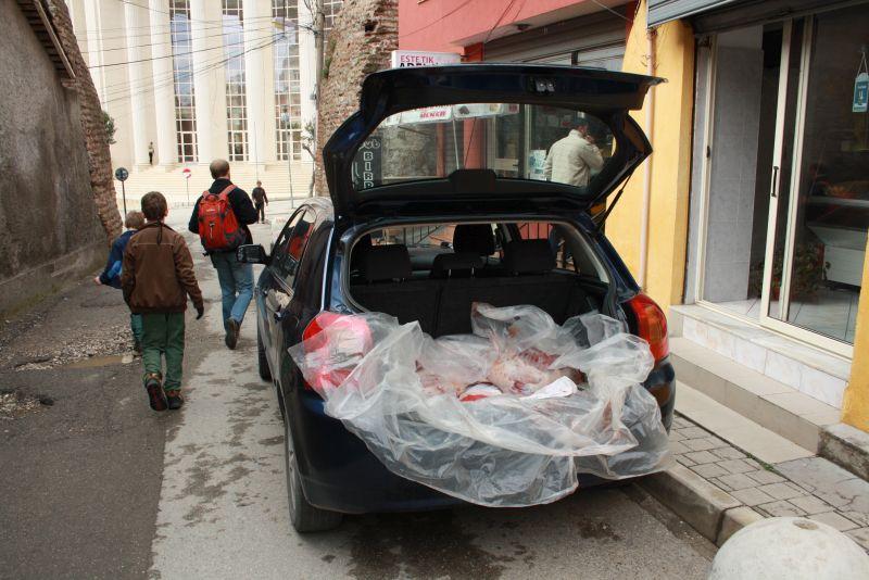 Metzger Fleischer Schlachter Albanien