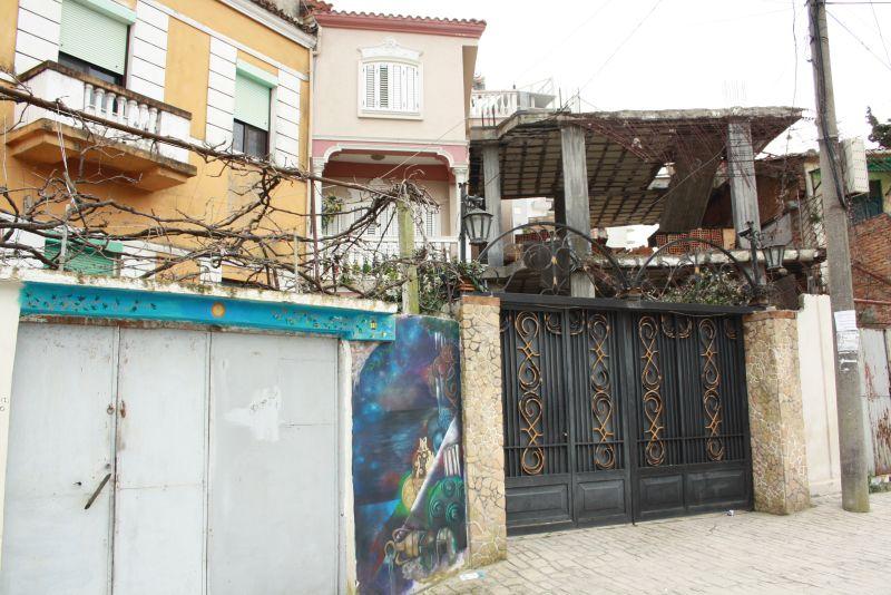 Streetart in Durres, Albanien