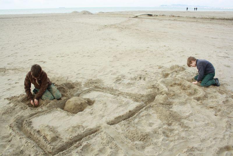 Familienurlaub in Albanien Strand Durres