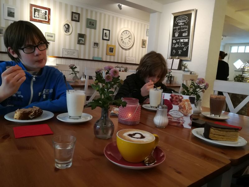 Lembergs Konditorei Fulda mit Kindern