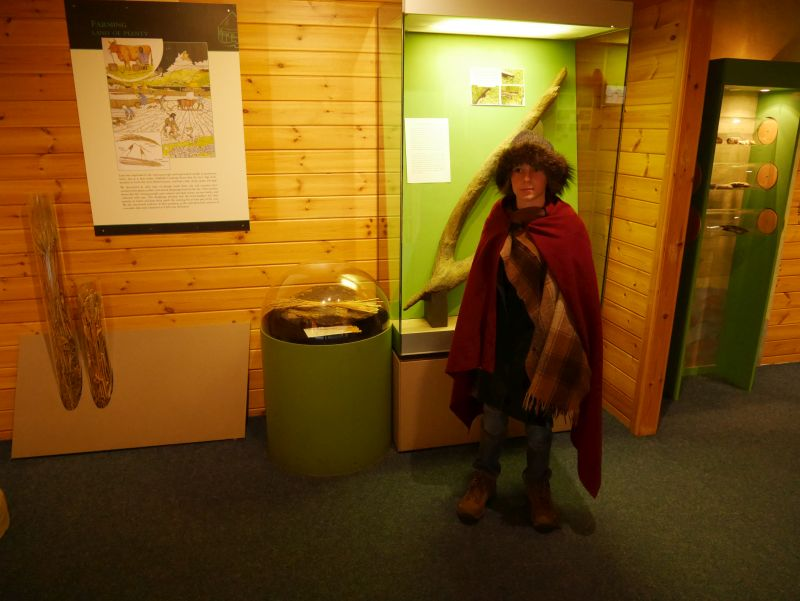 Scottish Crannog Centre mit Kindern, Museum
