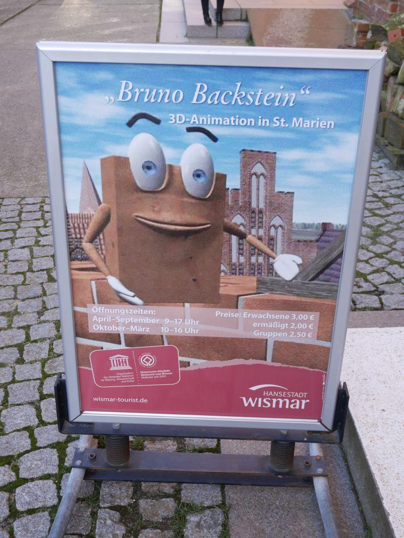 Bruno Backstein, Wismar mit Kindern