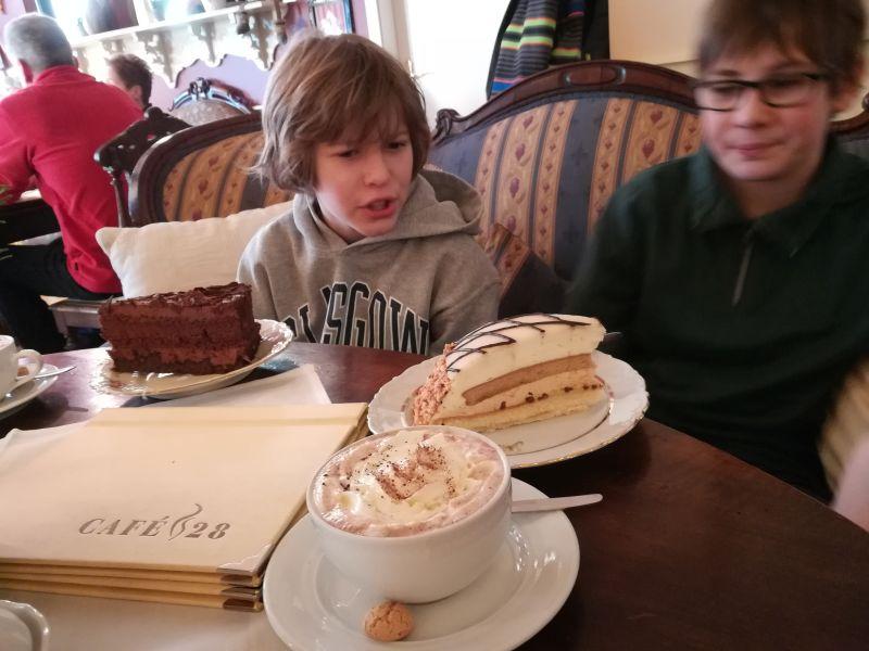 Café 28, Wismar mit Kindern