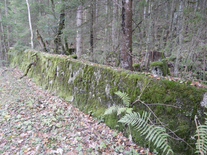 Ruinen Obersalzberg Berchtesgaden.