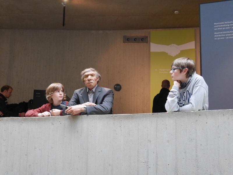 Neanderthal Museum Düsseldorf mit Kindern
