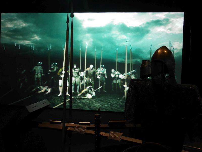 Battle of Bannockburn Heritage Centre interaktive Schlacht