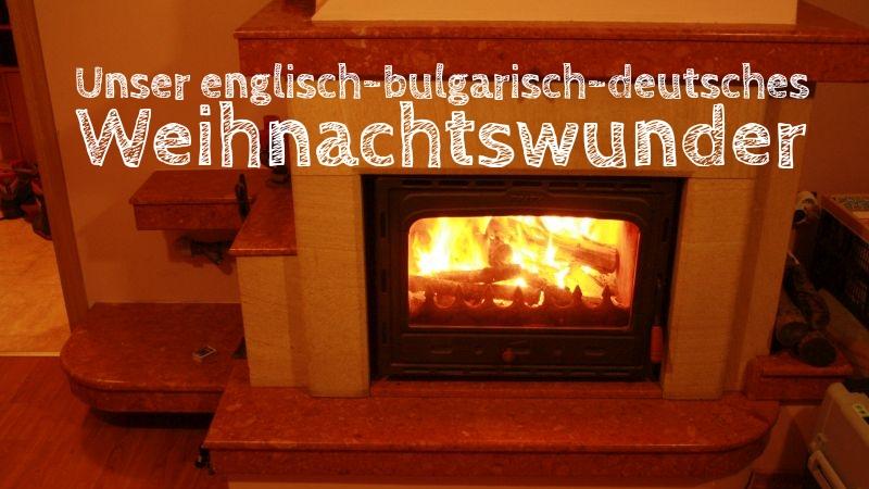 Die Entdeckung Europas Weihnachten Bulgarien