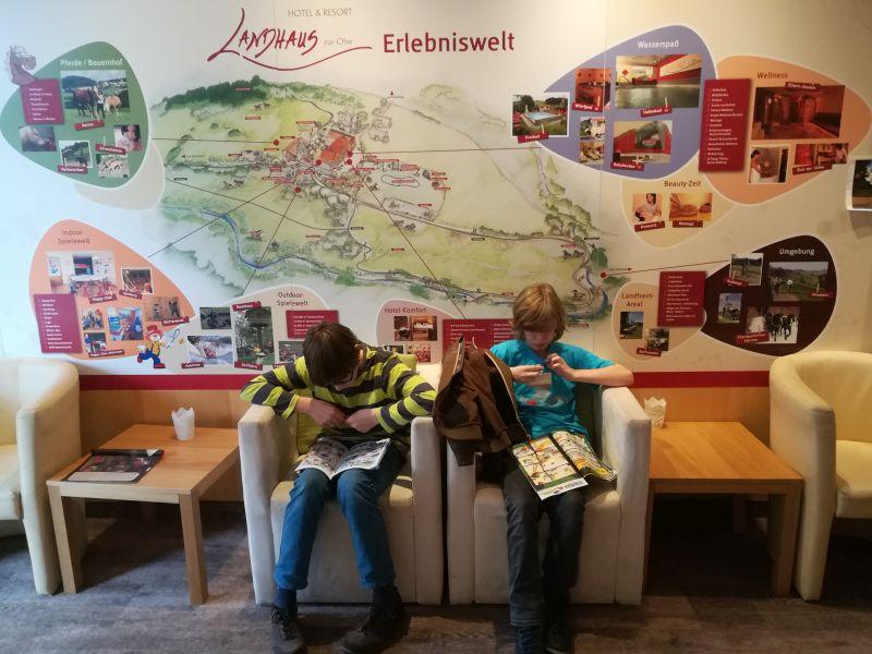 Familotel Bayerischer Wald Landhaus zur Ohe Lobby