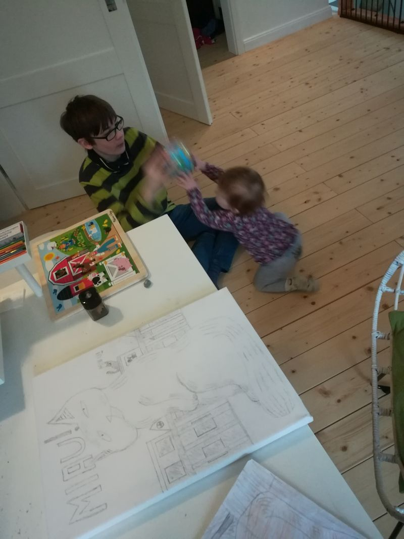 schöne familienfreundliche Unterkunft in Schleswig-Holstein