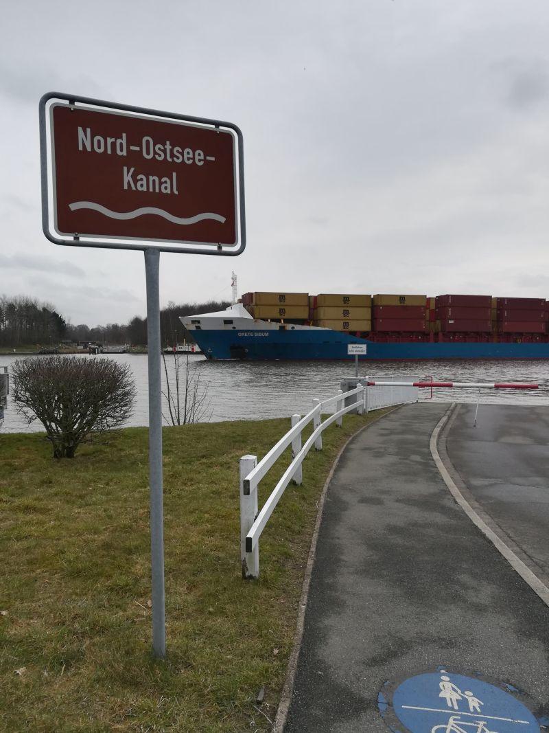 Nord-Ostsee-Kanal Schafstedt