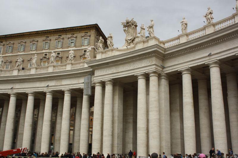 Petersplatz Rom, Vatikanstadt
