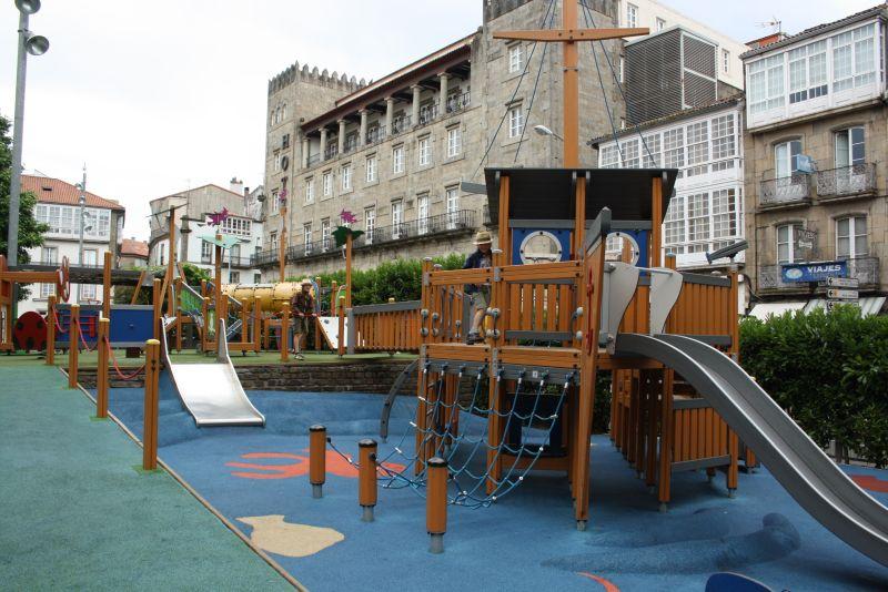 Spielplätze in Spanien mit Kindern