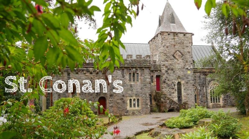 St. Conan's Kirk, Loch Awe, Argyll, Schottland