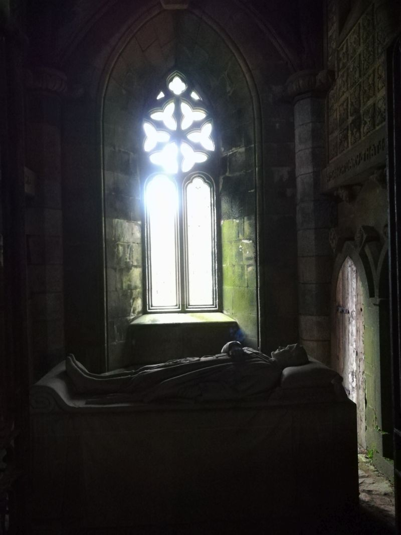 St. Conan's Kirk, Dalmally, Loch Awe, Schottland, Bruce Chapel