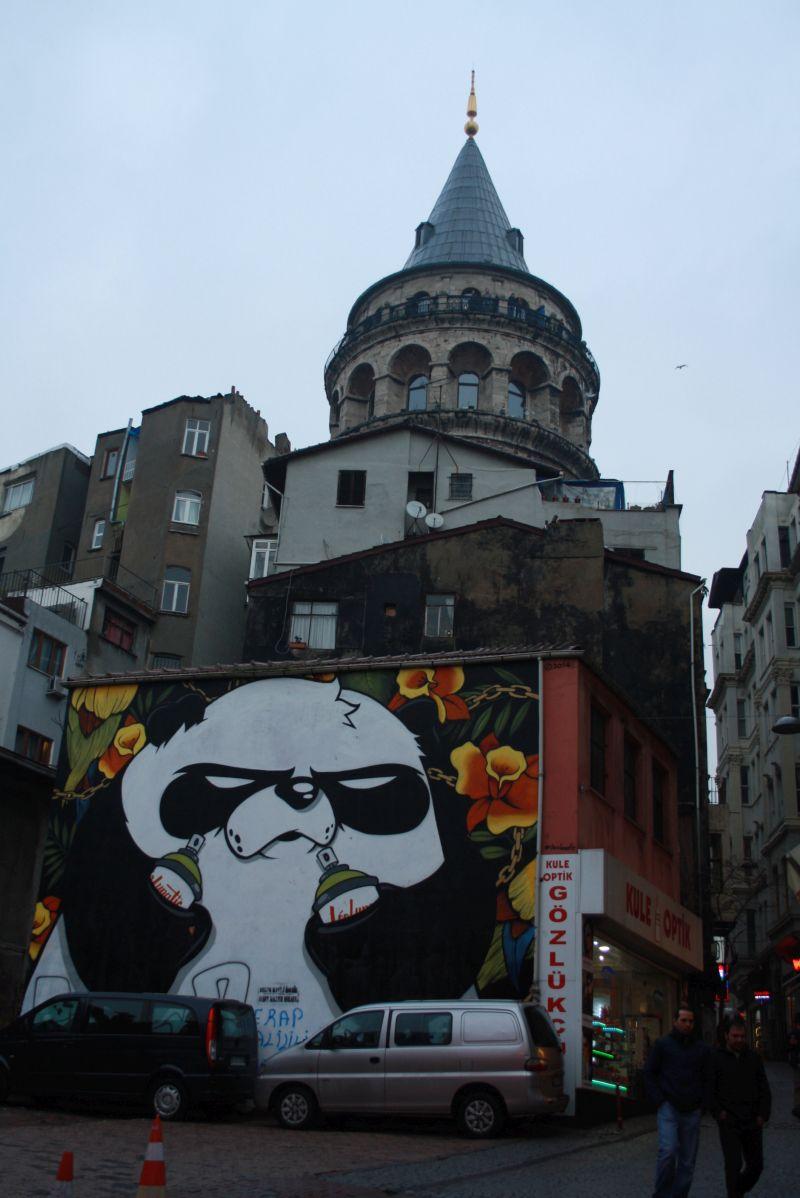 Beyoglu, Istanbul, Streetart