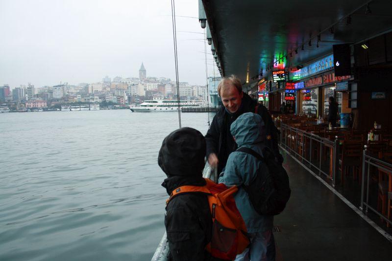 Istanbul, Bosporus, Galaterbrücke