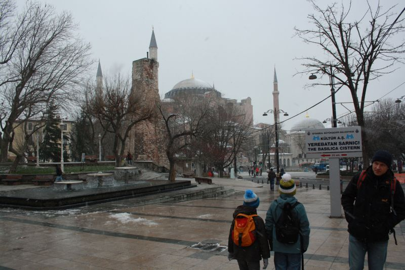 Istanbul im Januar