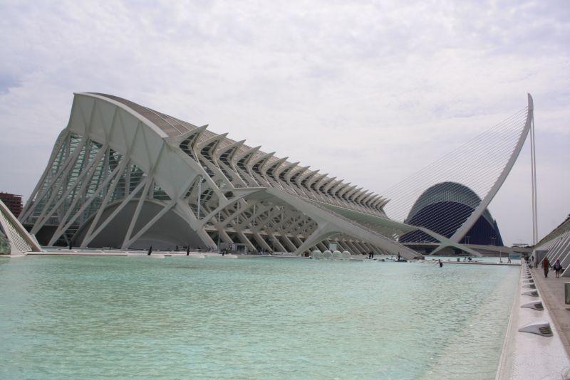 Valencia Spanien moderne Architektur