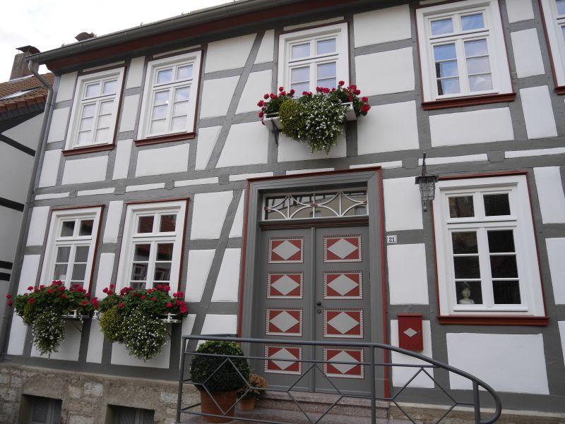 Warburg, Fachwerkhaus