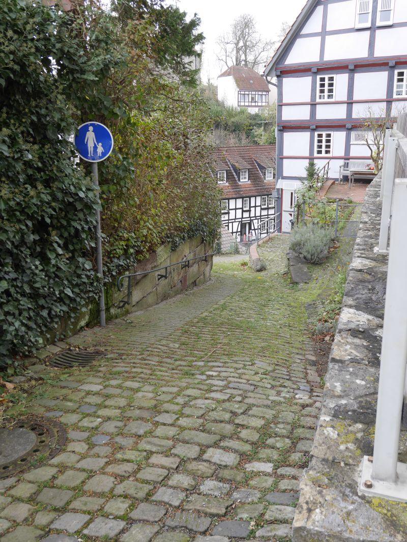 Warburg Altstadt Gassen