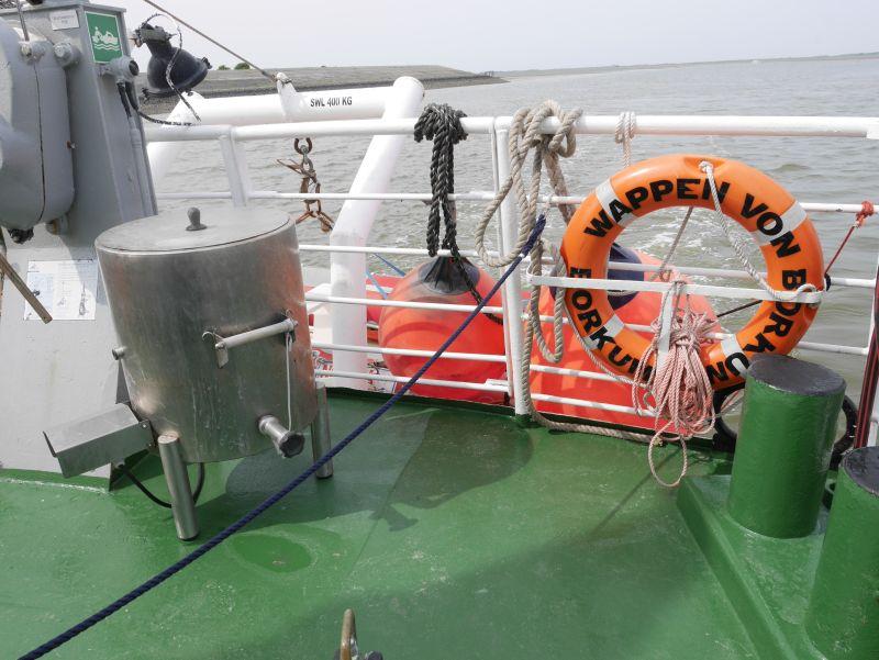 Borkum Sehenswürdigkeiten, Kochtopf, Fahrt mit dem Krabbenkutter