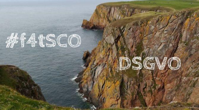 Nähkästchen-Geplauder aus Schottland: Zwischen #f4tSCO und DSGVO – und ein bisschen krassen Plänen