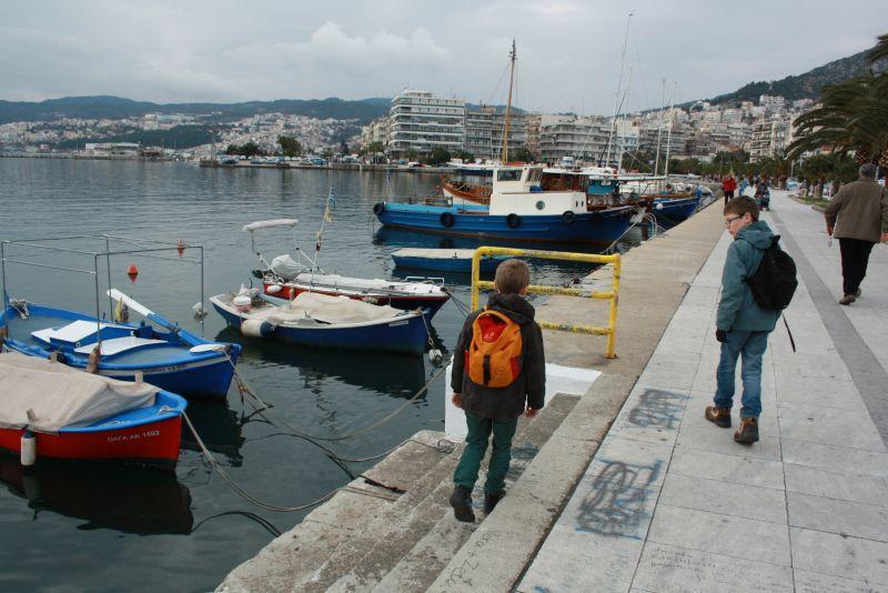 Kavala, Griechenland, Hafen