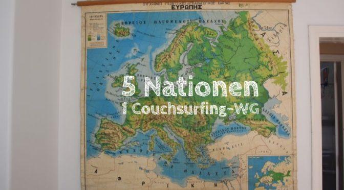 Patras: Unsere 5-Nationen-WG [Die Entdeckung Europas]