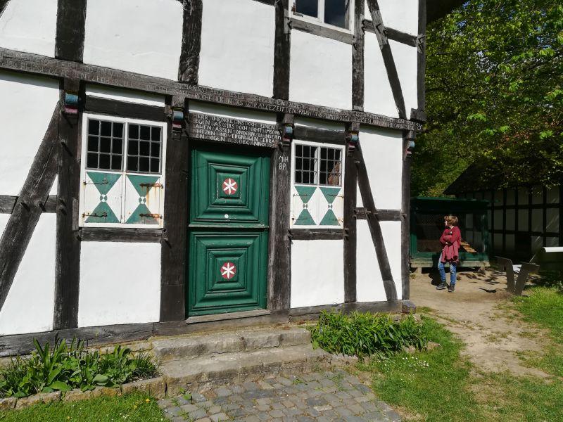 Bielefelder Bauernhausmuseum mit Kind
