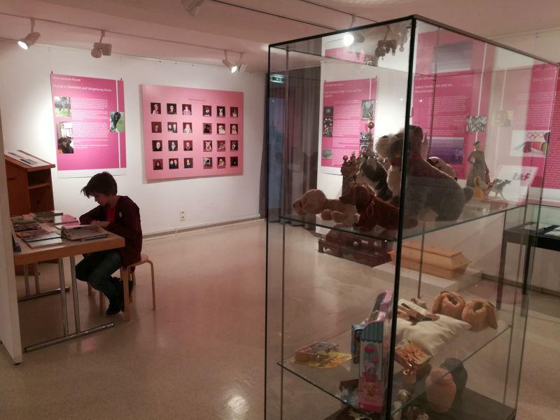 Bielefelder Bauernhausmuseum mit Kind, Ausstellung