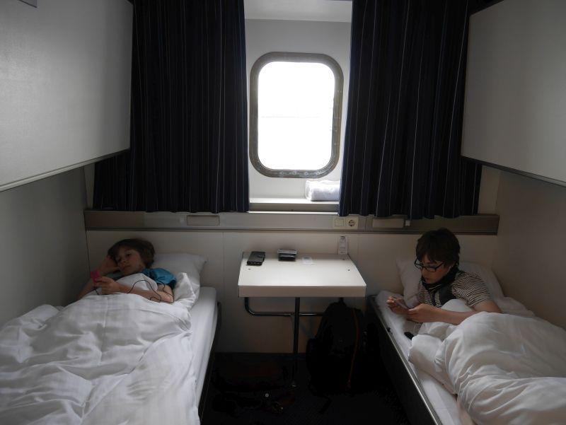 Schottland-Fähre DFDS Amsterdam-Newcastle 4-Bett-Kabine
