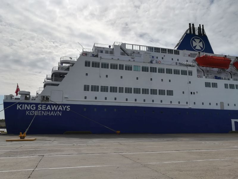 King Seaways DFDS, Fähre nach Schottland