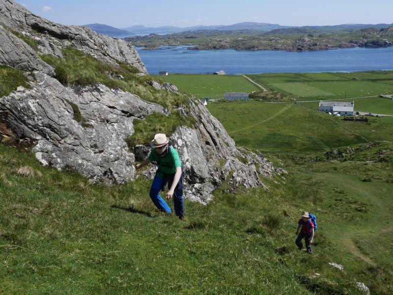 Schottland mit Kindern, Iona, Dun I