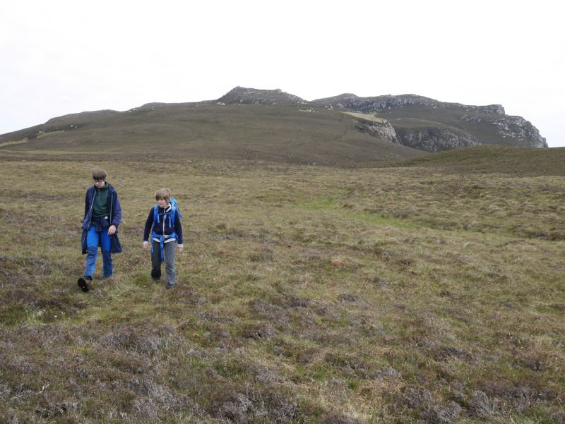 Wandern mit Kindern in Schottland, Islay, Mull of Oa