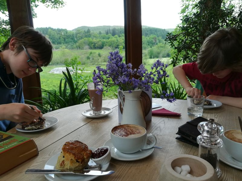 kilmartin cafe, tea time