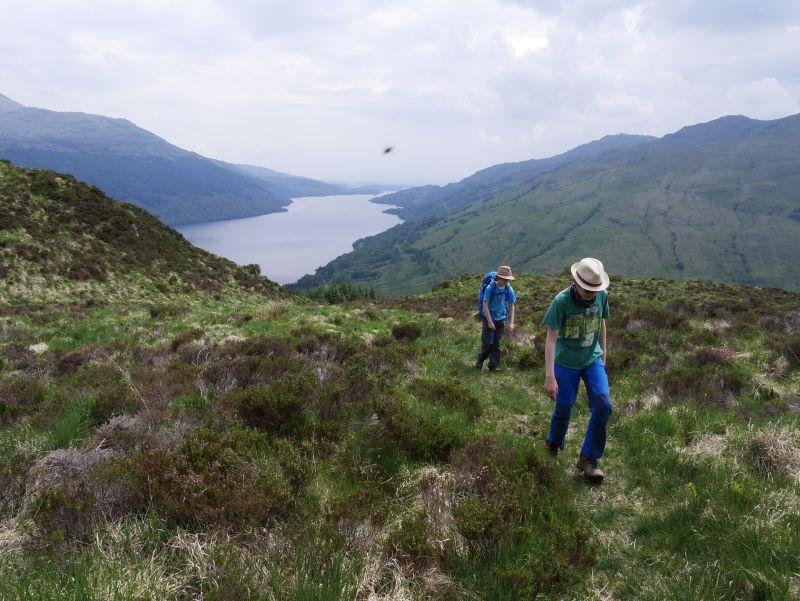 Wandern in SChottland mit Kindern, Loch Lomond