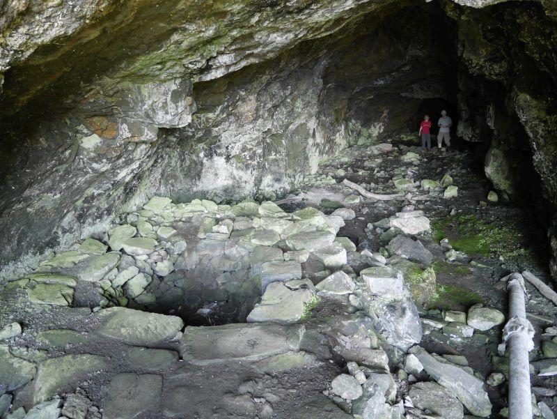 Whisky Cave, Mull, Schottland mit Kindern