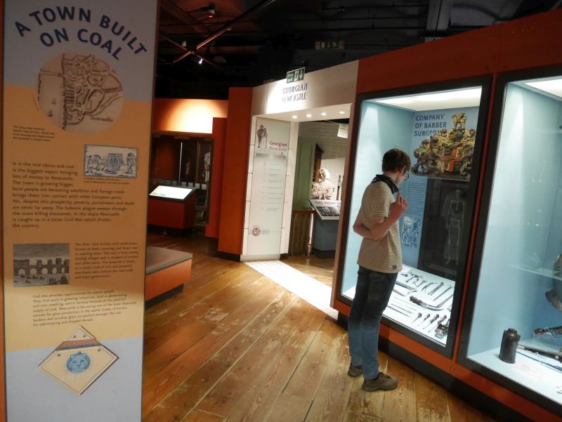 Newcastle Discovery Museum mit Kindern