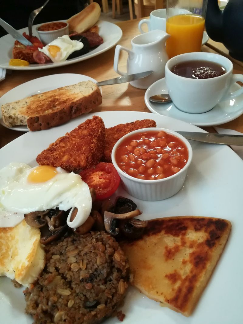 Full Scottish Breakfast.
