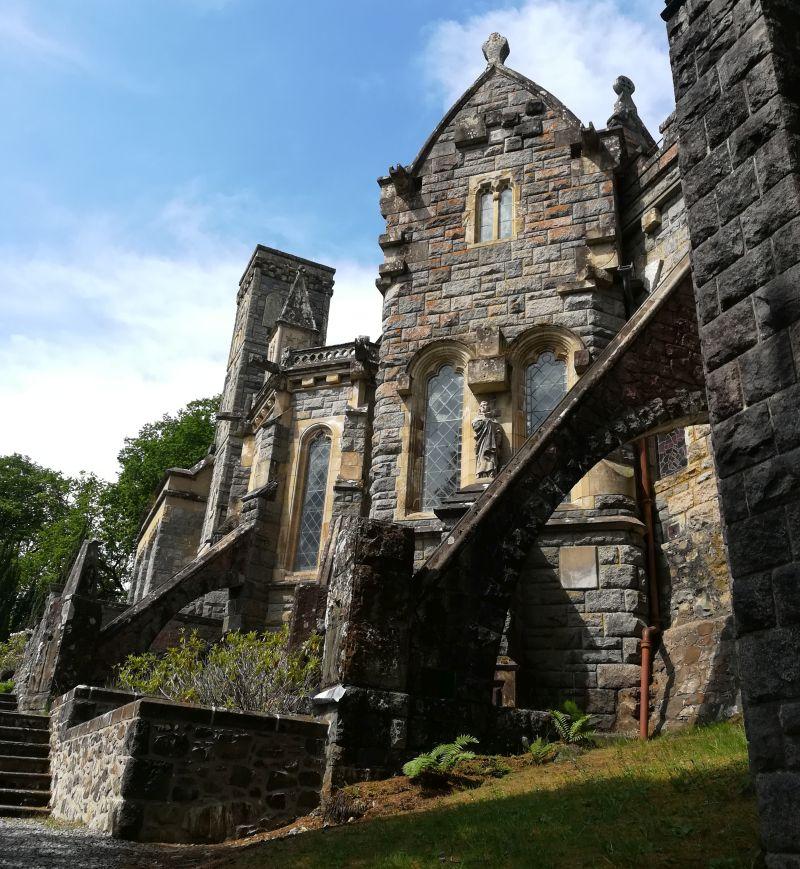 St. Conan's Kirk von hinten, Loch Awe, SChottland