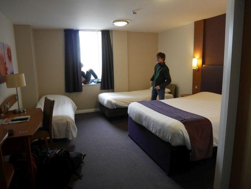 Familienzimmer Hotel Glasgow Schottland mit Kindern