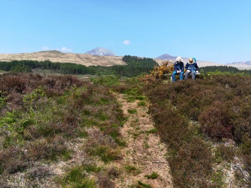 Wandern mit Kinder in Schottland, Jura